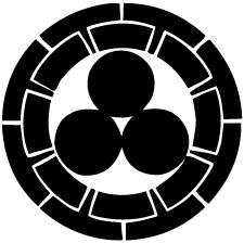 源氏輪に三つ星紋