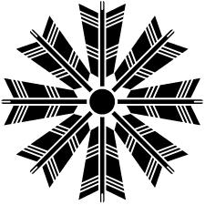 八つ矢車紋