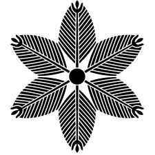 六つ若松車紋