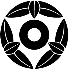 九枚笹蛇の目紋