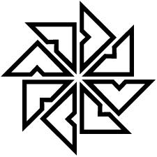 陰四つ目車紋