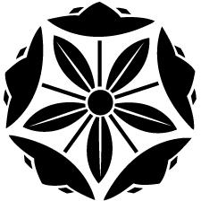 竜胆桔梗車紋