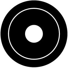 丸に蛇の目紋
