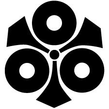三つ剣蛇の目紋