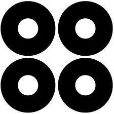 四つ並び蛇の目紋