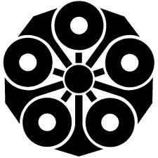 五つ剣蛇の目紋