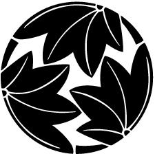三つ割り楓紋