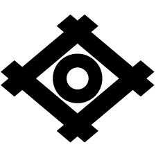 井桁に蛇の目紋