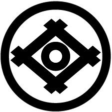 丸に井桁に蛇の目紋