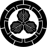 七つ源氏輪に三つ柏紋