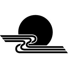 黒田月に水紋