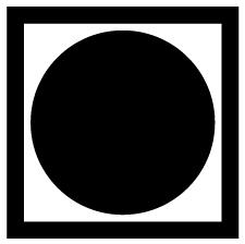 黒田枡形に月紋
