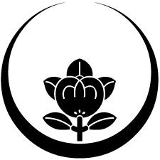 月輪に総覗き橘紋