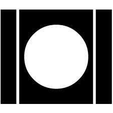 岩城家櫺子に月紋