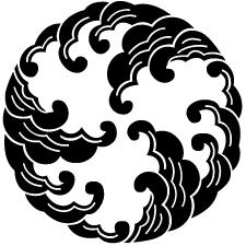 三つ割り浪紋