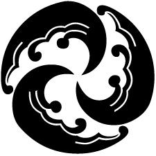三つ追い浪丸紋