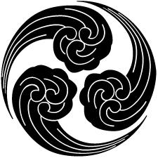 三つ浪巴(1)紋