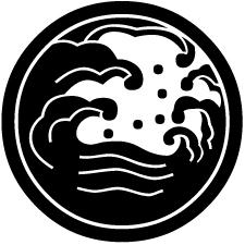 中輪に浪の丸紋