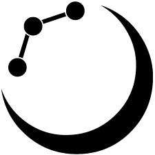 月に三つ星紋