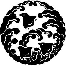 浪に千鳥(1)紋