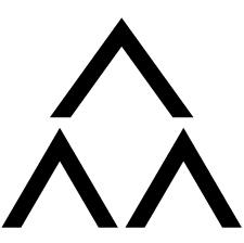 三つ盛り山形紋