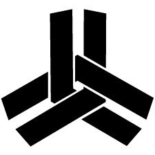 三つ組み合い山形紋