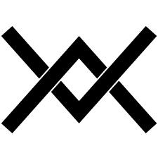 上下組み合い山形紋