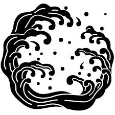 変わり対い浪(2)紋