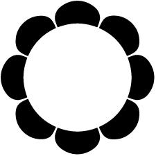 八つ浪輪紋