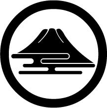 丸に富士山形紋