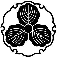 糸雪輪に三つ柏紋
