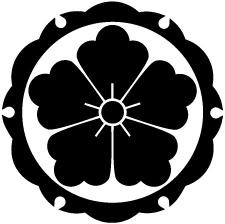 外雪輪唐花紋