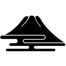 富士山形紋