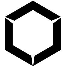 六角山形紋