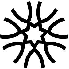 組み合い変わり山形紋