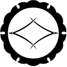 外雪輪に松葉菱紋