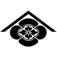 山形に木瓜2紋