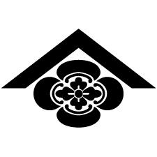 山形に木瓜紋