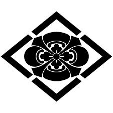 四山菱に剣木瓜紋