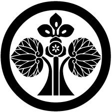 丸に変わり花立ち葵紋2