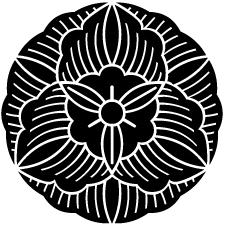 向こう花葵紋