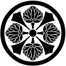 中輪に剣四つ葵紋