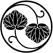 二つ蔓葵の丸紋