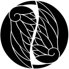 入れ違い割り葵紋2