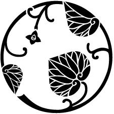 変わり葵の丸紋