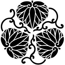 変わり三つ蔓葵紋2