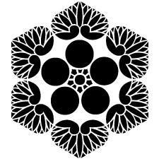 六つ葵梅鉢紋