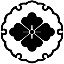 雪輪に花菱紋