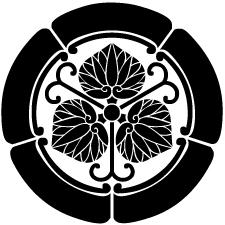 五瓜に蔓三つ葵紋