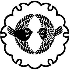 雪輪に対雀2紋